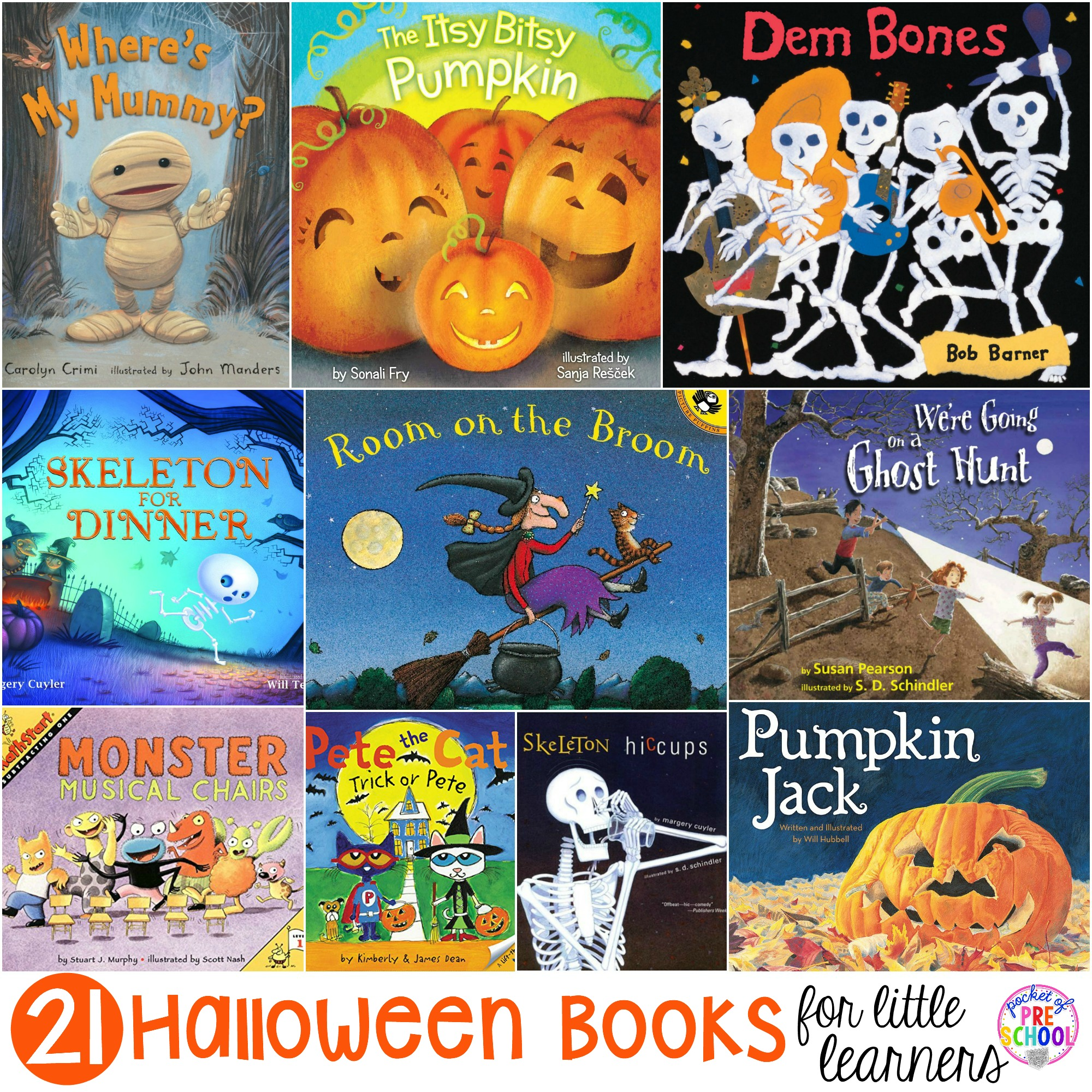 Halloween Books For Little Learners