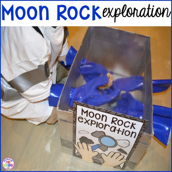 Space Station Dramatic Play - Pocket of Preschool