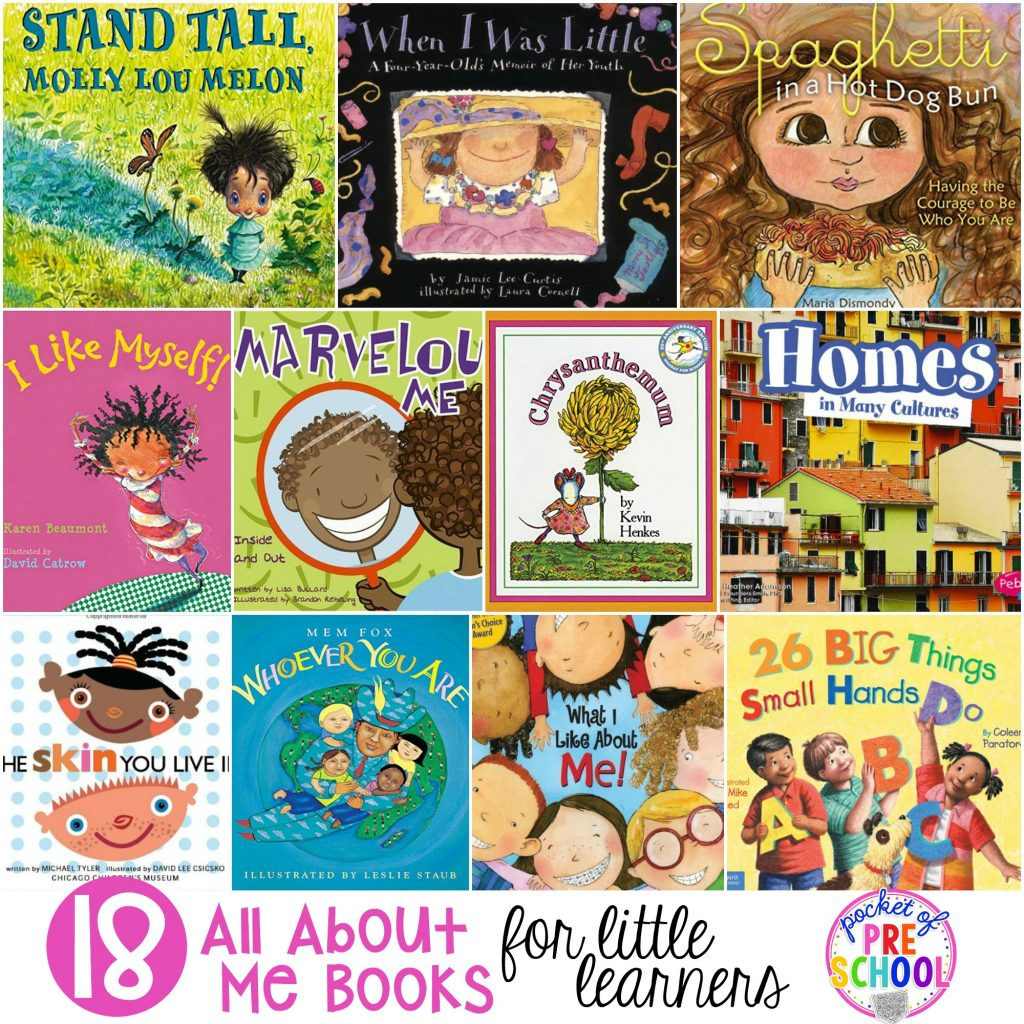 All About Me Books For Little Learners