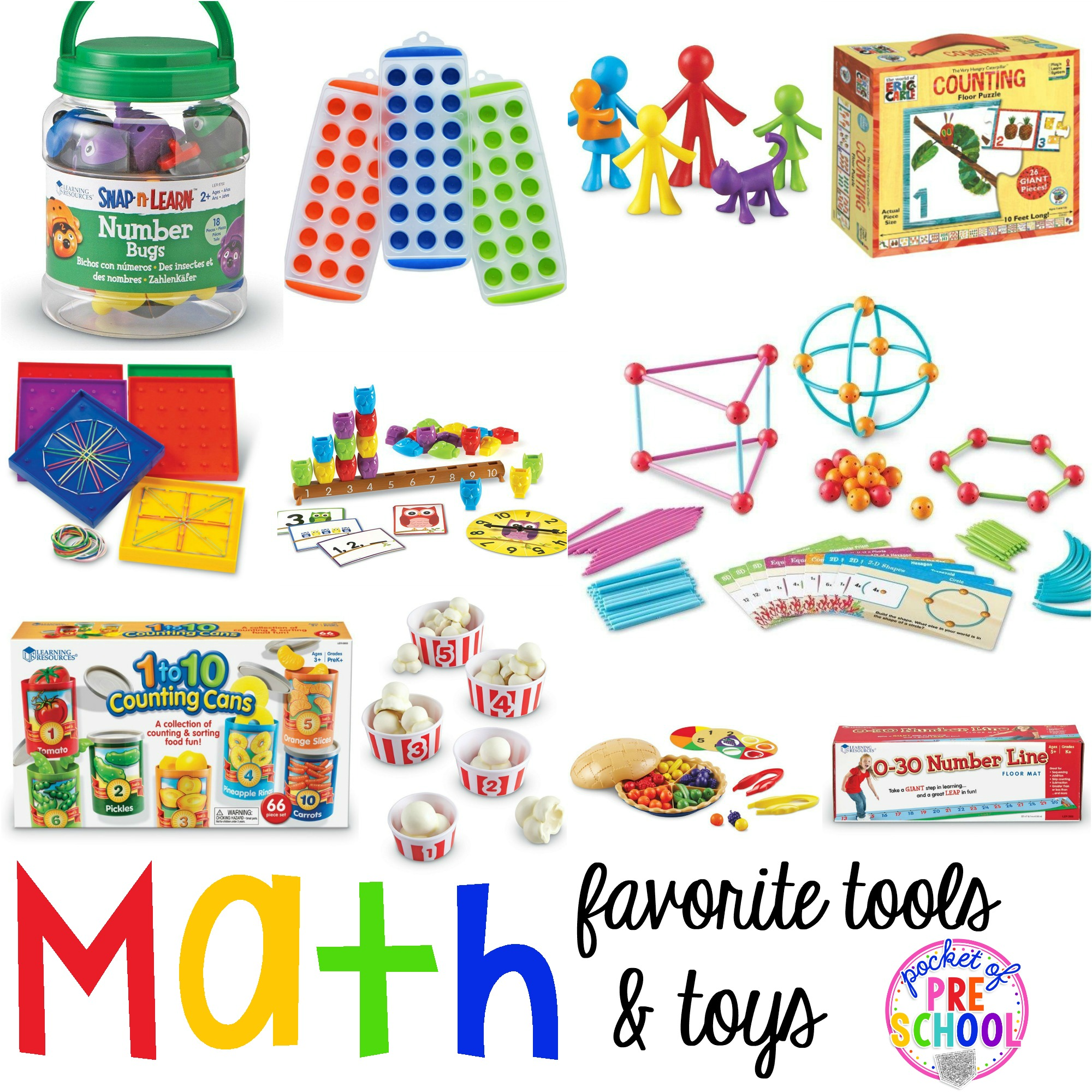 Favorite Math Tools Amp Toys For Preschool