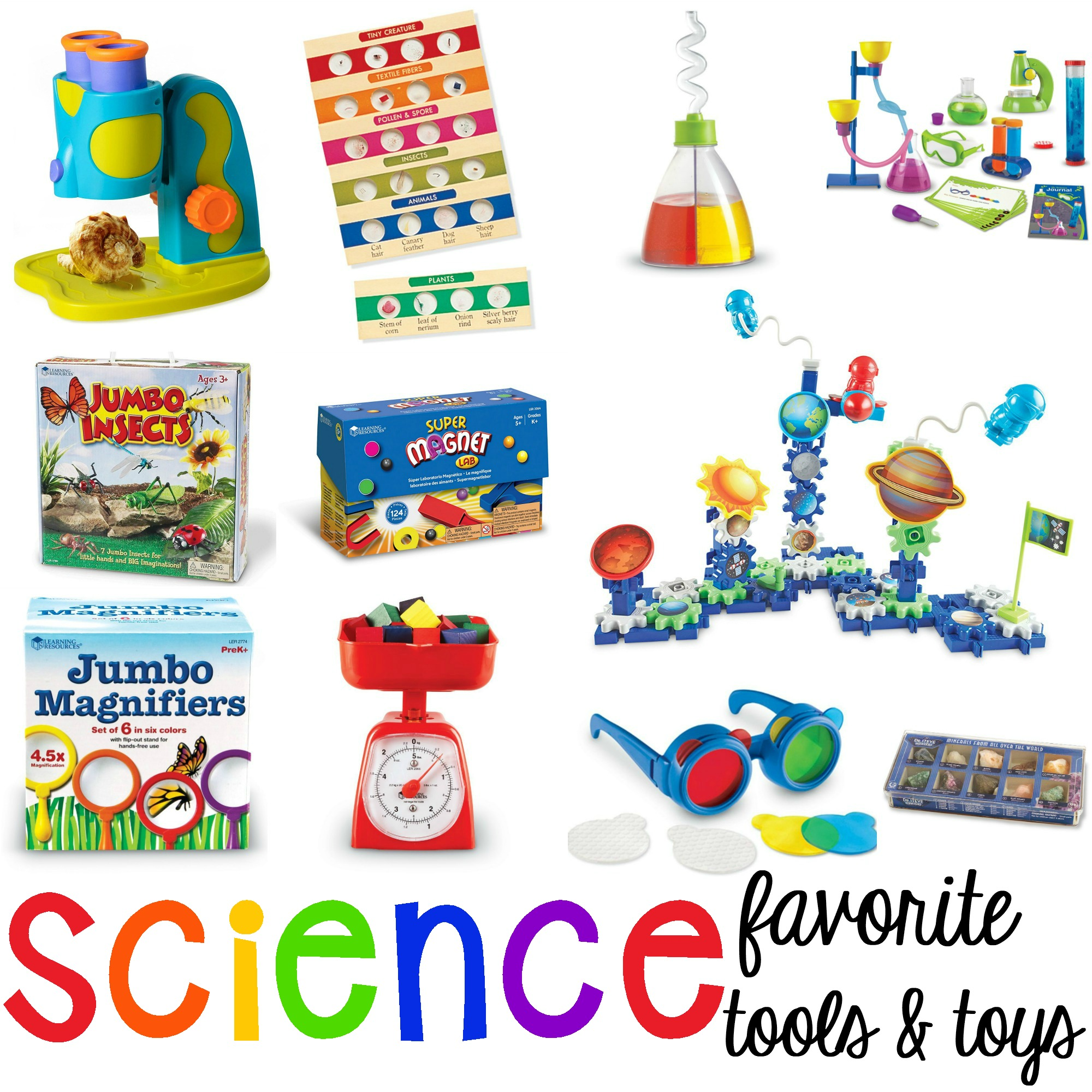 Favorite Science Tools And Toys For Preschool And