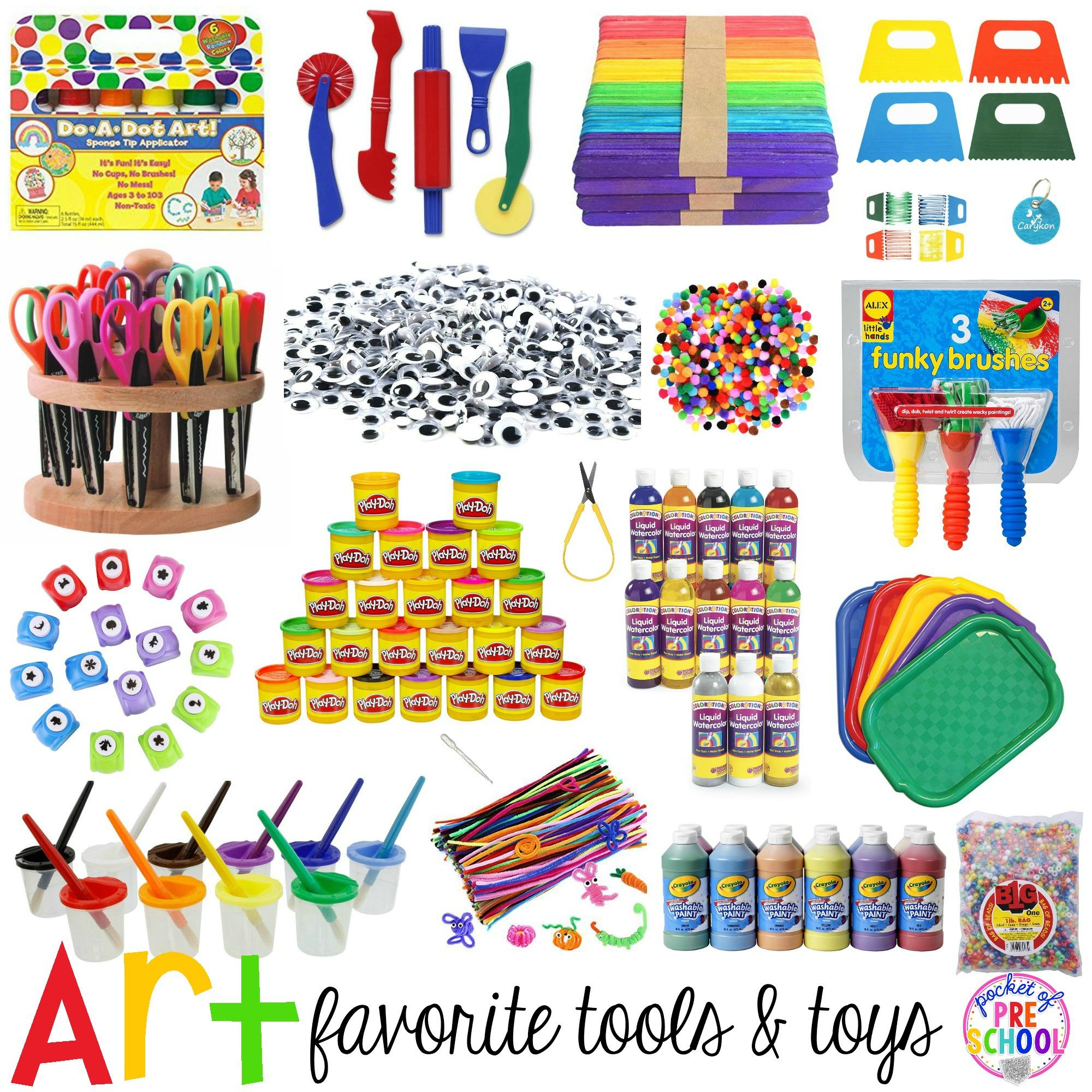 Favorite Art Tools And Toys For Preschool Amp Kindergarten