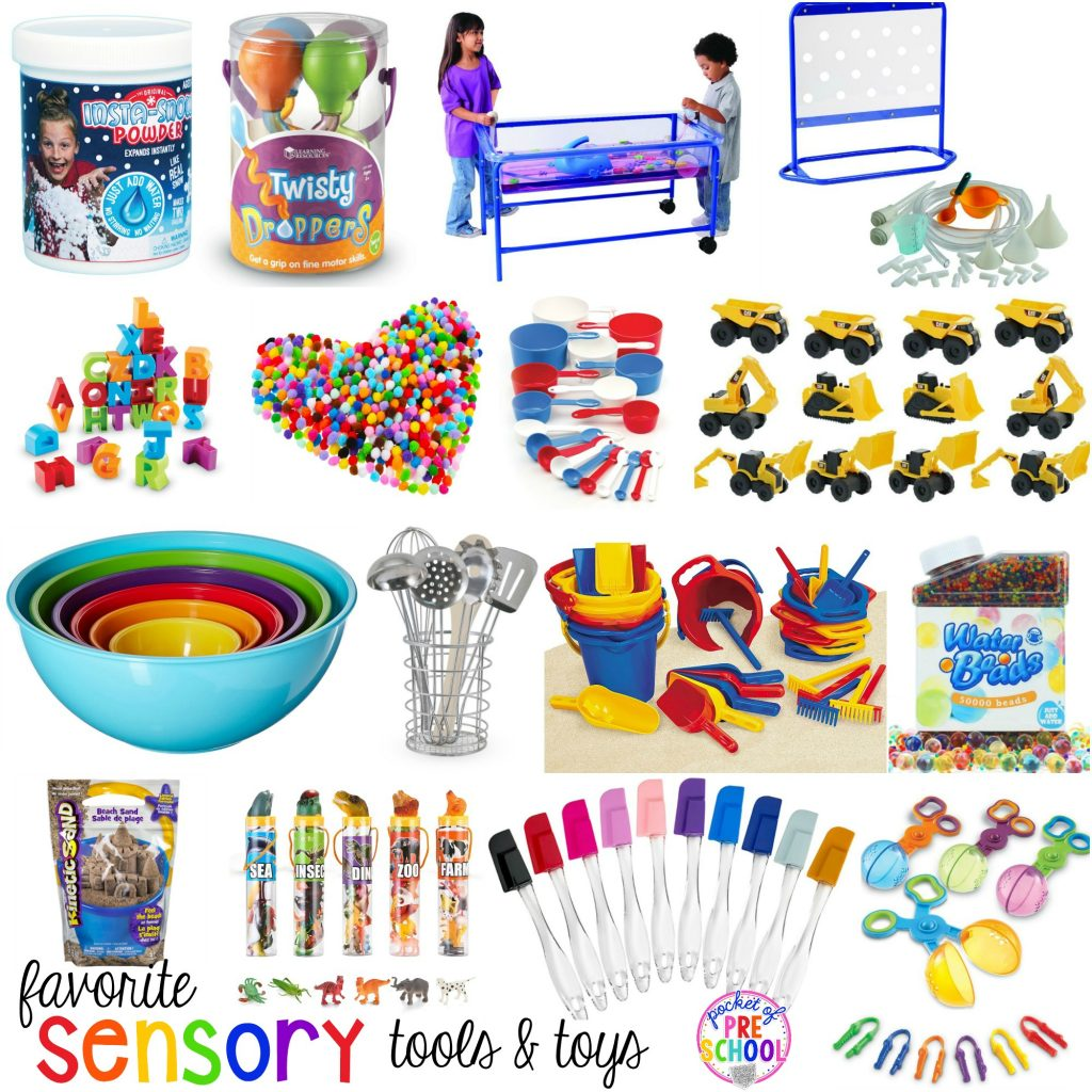 Sensory Table Fillers Amp Tools