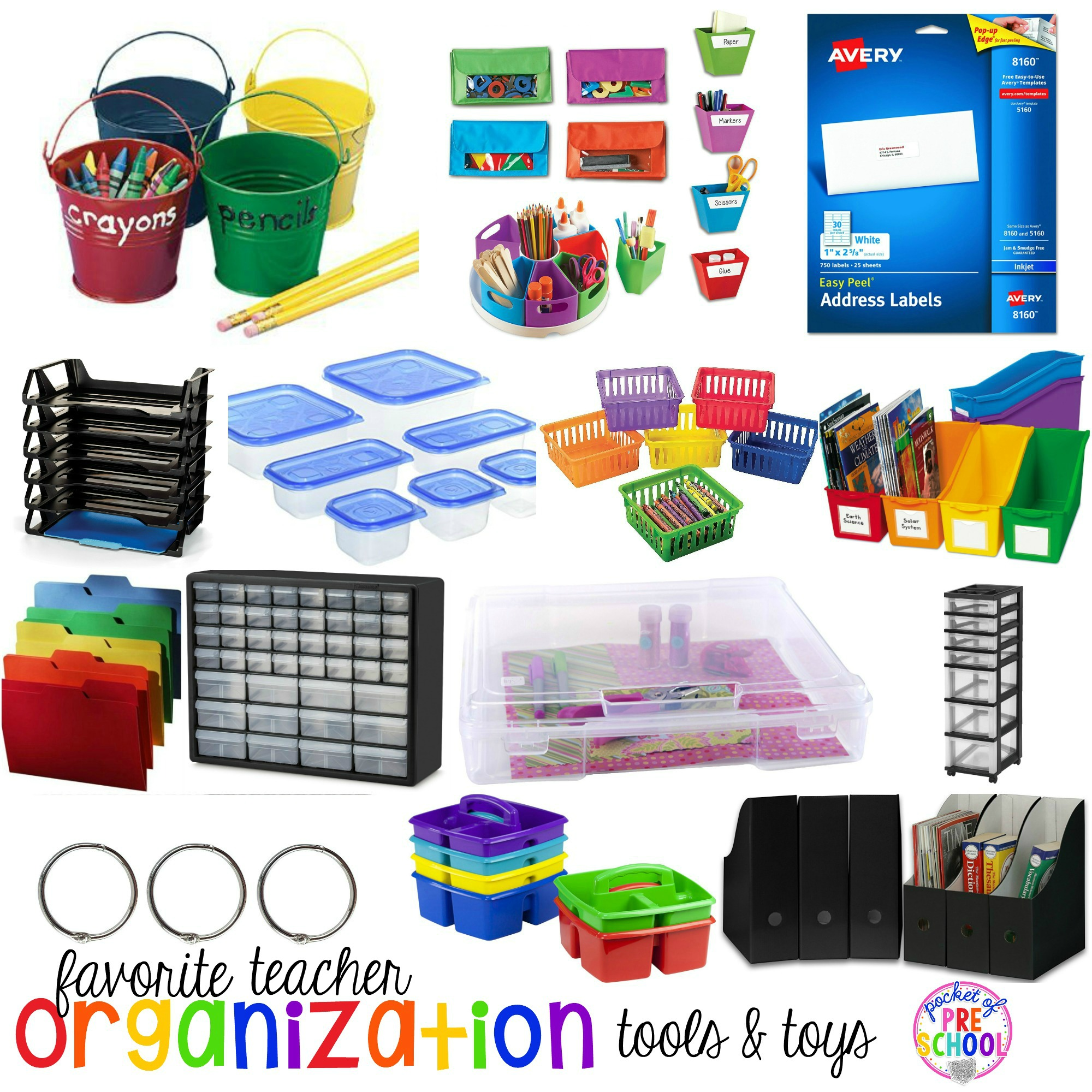 Favorite Teacher Organization Tools And Toys