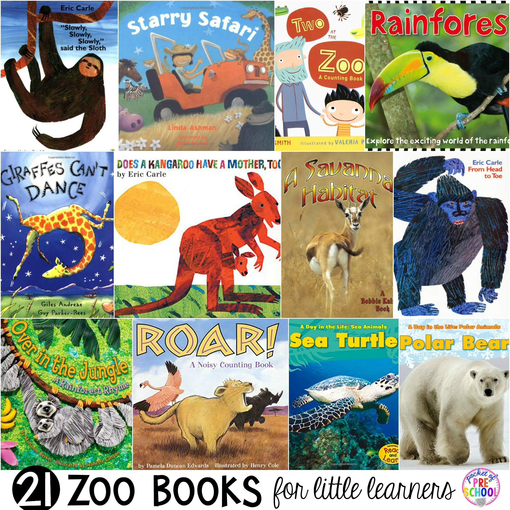 Zoo Books For Little Learners