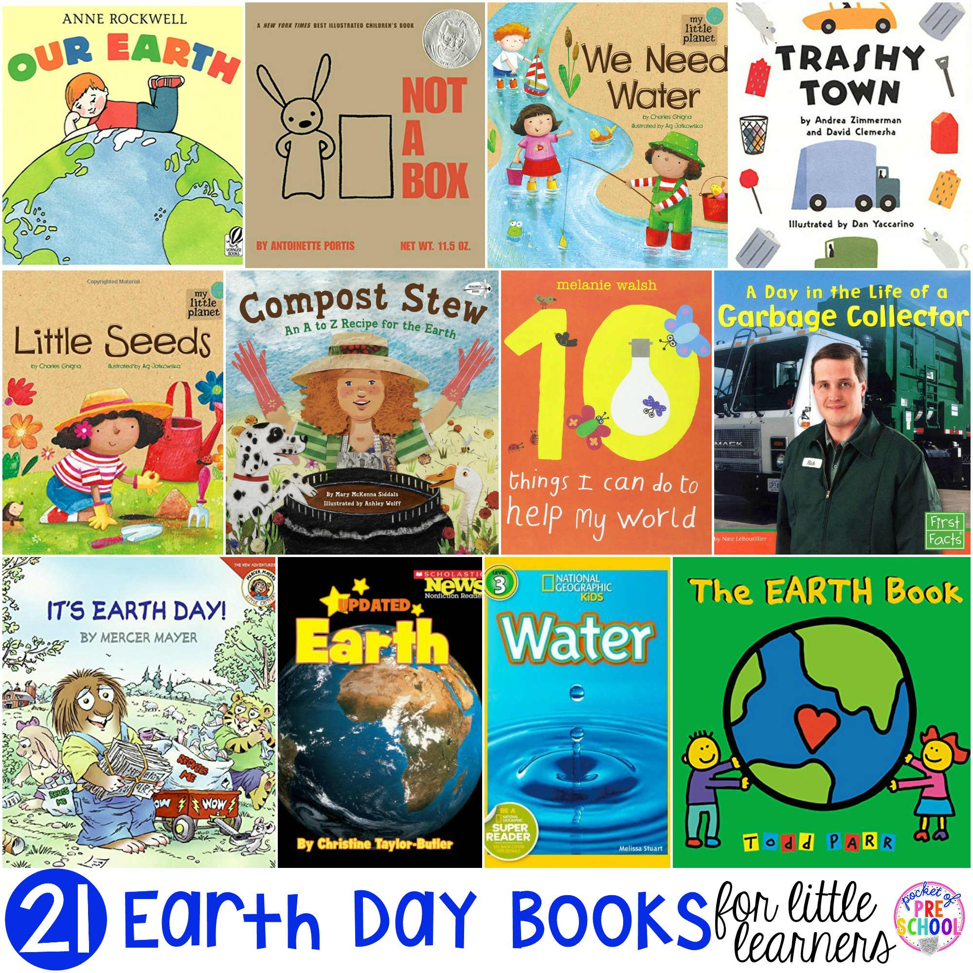 Earth Day Books For Little Learners