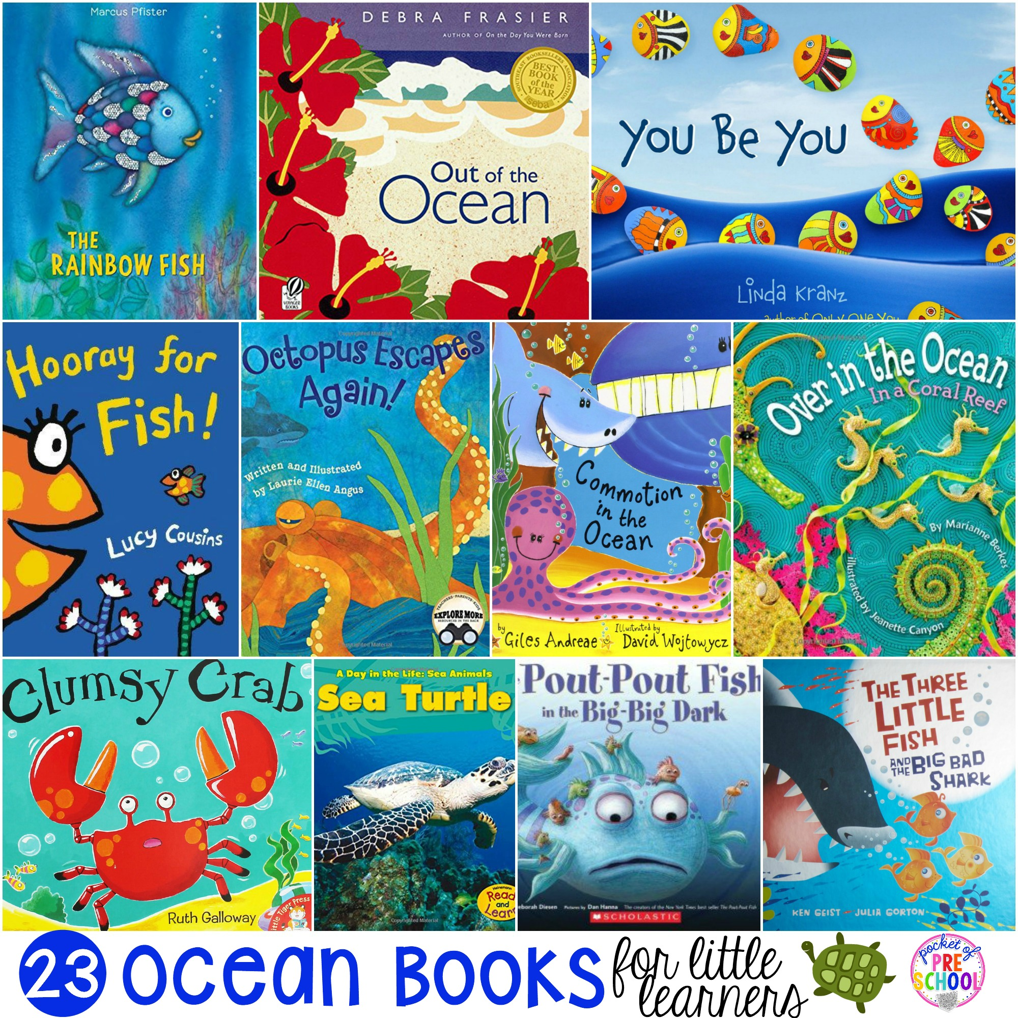 Ocean Books For Little Learners