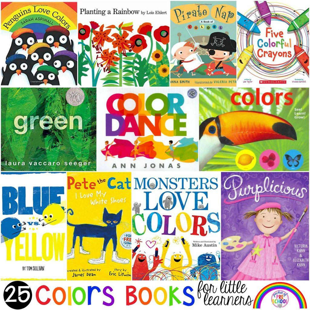 Colors Books For Little Learners