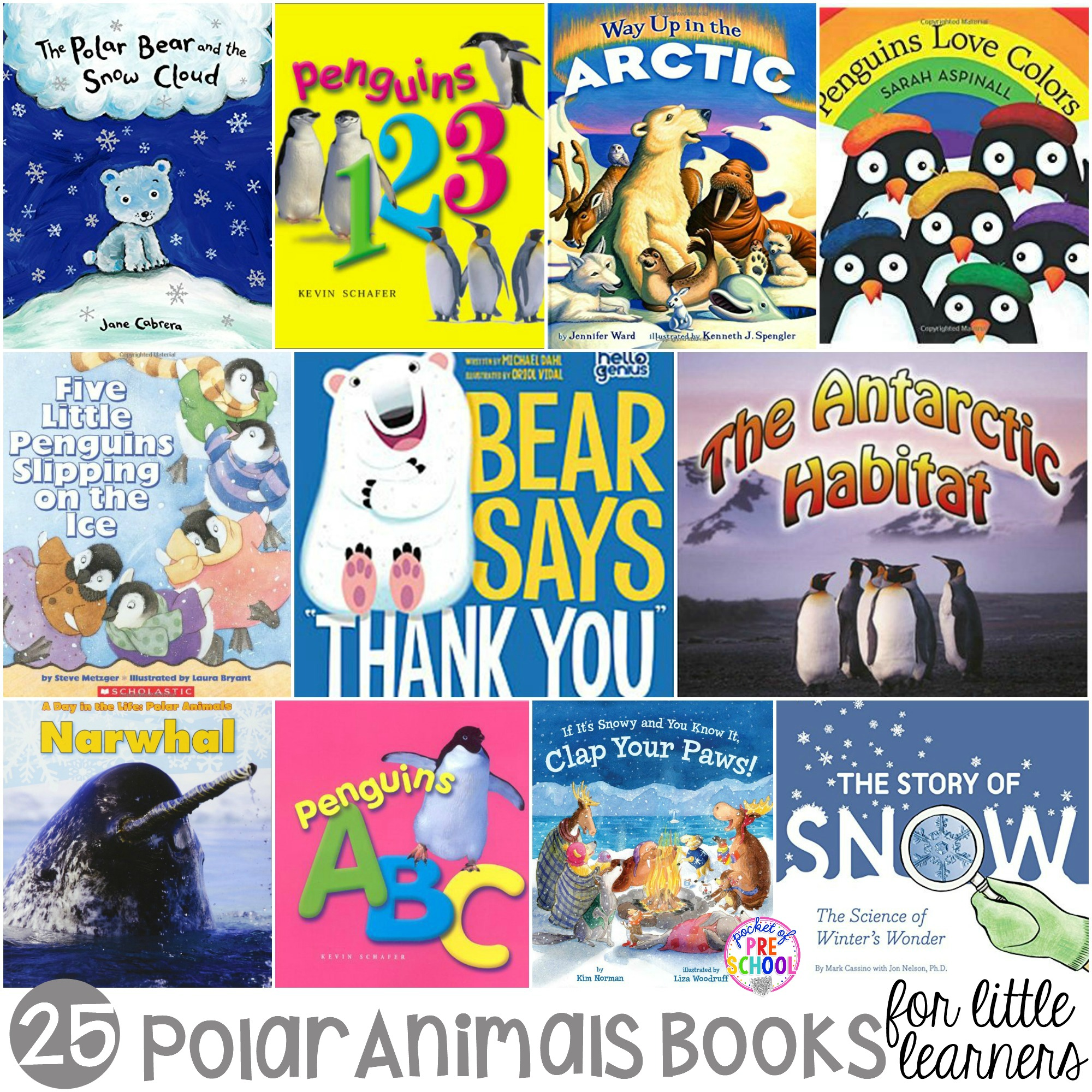Polar Animals Books For Little Learners