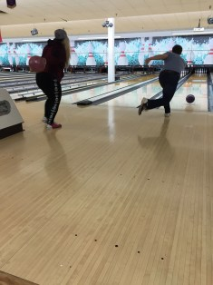 He only got strikes or splits all night