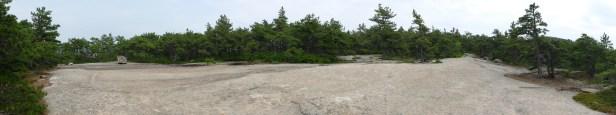 A massive ledge on Champlain Mt.