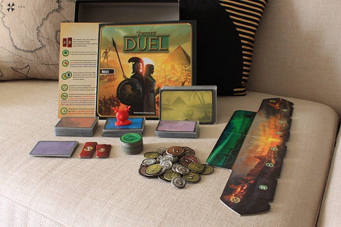 7 Wonders Duel Items