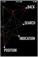 Schermata applicazione - Mappa