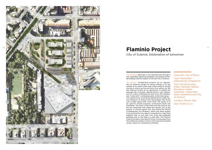 Esempio doppia pagina dei progetti