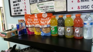 Pocono Bike Rental Energy Drinks for Sale