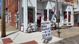 Pocono Bike Rental on Route 940 in the Poconos