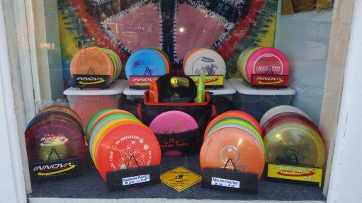Poconos Disc Golf Discs and Supplies at Pocono Bike Rental