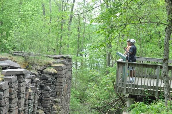 Lehigh Gorge Bike Trail - Lock System