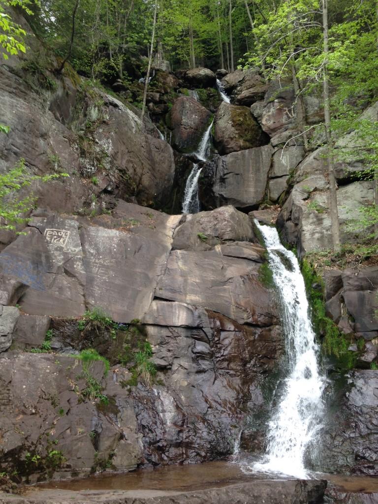 Buttermilk Falls, Lehigh Gorge Trail - Pocono Bike Rentals
