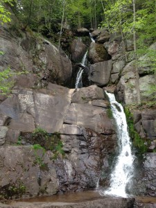 Lehigh Gorge Rail Trail Scenic Waterfall near Rockport