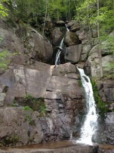 Lehigh Gorge Rail Trail Scenic Waterfall near Rockport