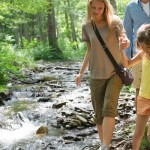 Cool Fun Family Hiking in the poconos lehigh gorge white haven pa