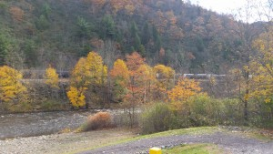 Jim Thorpe Lehigh River Access Fall Foliage Picture