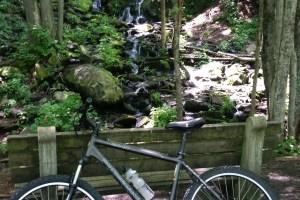Waterfall on Lehigh Gorge Trail