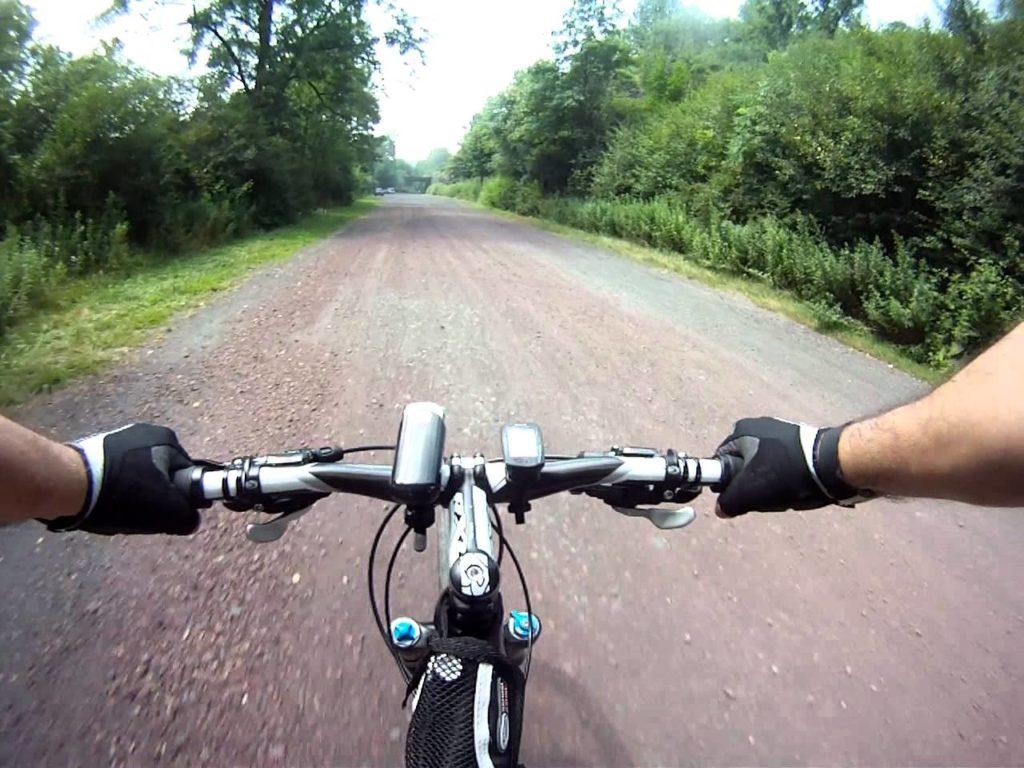 Lehigh Gorge Bike Trail goPro Image