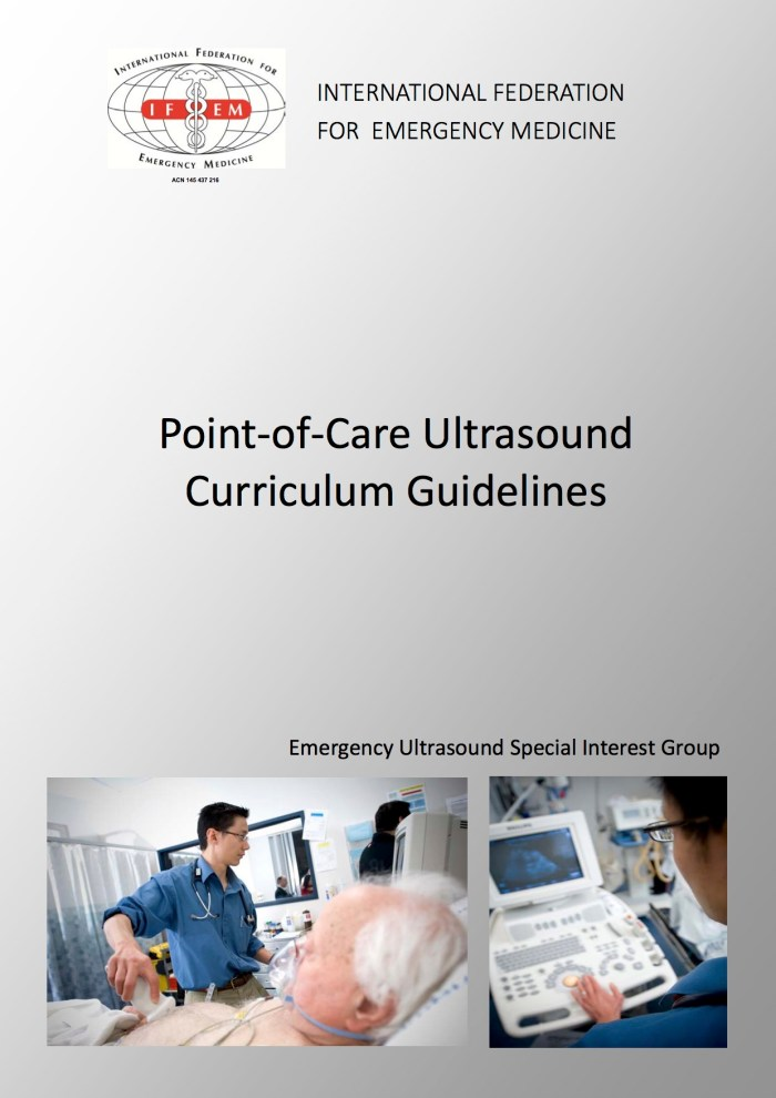 IFEM Point-of-Care Ultrasound Curriculum Guidelines 2014