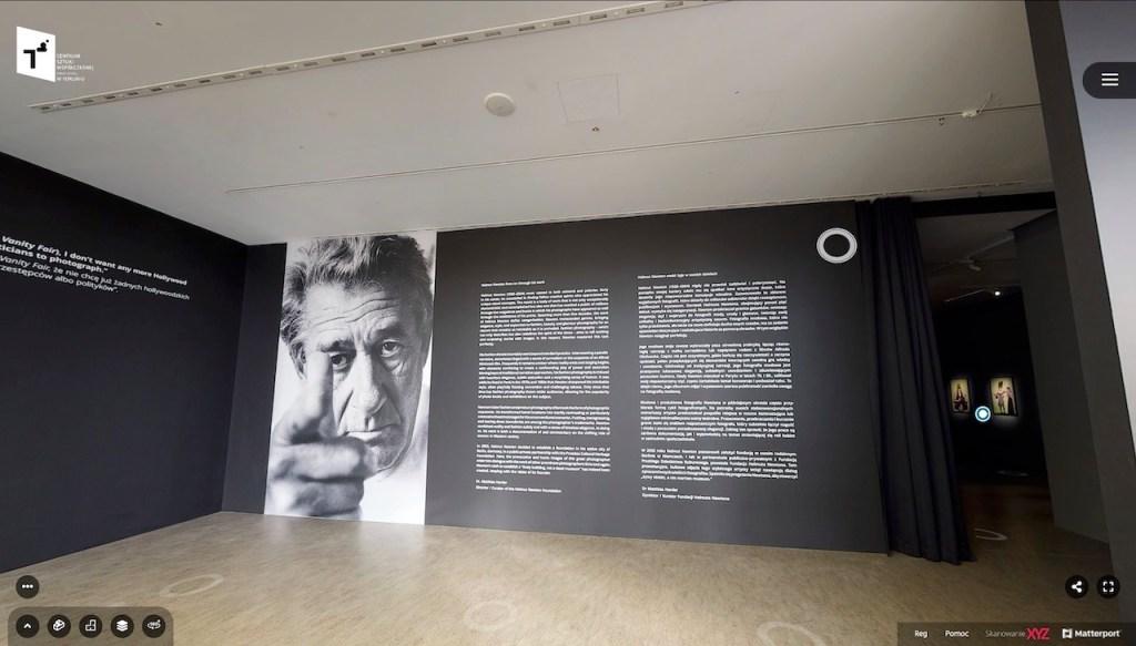 Helmut Newton mistrzowie fotografii - wirtualna wystawa CSW Toruń