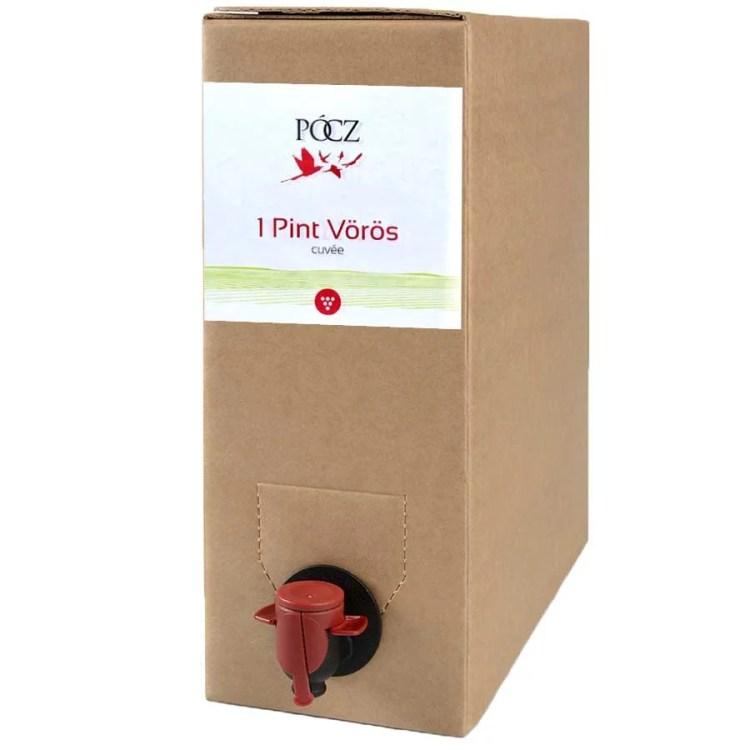 Bag in Box Vörös