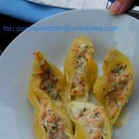 Przepis dla Sylwii: Conchiglioni faszerowane łososiem