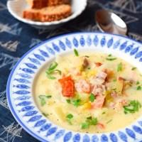 Chowder – wyspiarska zupa rybna
