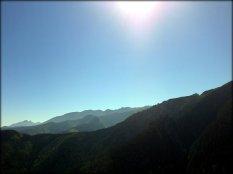 Widok z Sarniej Skały - sierpień 2012