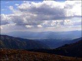Krzesanica (2122 m n.p.m.) - widok na południe - sierpień 2012
