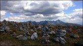 Krzesanica - kamienne kopczyki - sierpień 2012