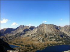 Widok ze Szpiglasowej Przełęczy - wrzesień 2012