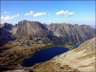 Widok ze Szpiglasowego Wierchu (2172 m n.p.m.) - wrzesień 2012
