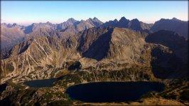 Widok z Koziego Wierchu (2291 m n.p.m.) - wrzesień 2012