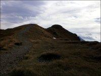 Okolice Przełęczy pod Kopą Kondracką podczas wiatru halnego - wrzesień 2012