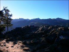 Widok z Nosala - październik 2012