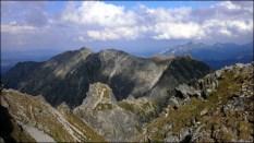 Orla Perć - widok z Pośredniego Granatu (2234 m n.p.m.) - 12 sierpnia 2013