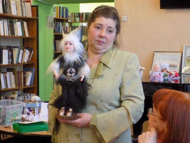 Пластиковая кукла Мурляндика