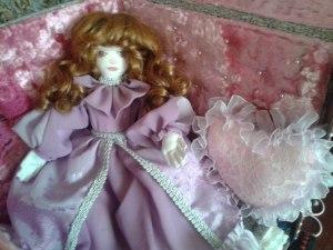 Кукла в подарок текстильная.
