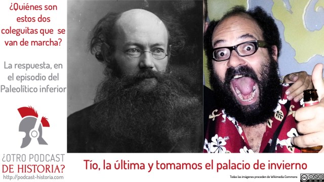 ¿Otro podcast de historia?: Parecidos razonables ente Kropotkin e Ignatius Farray