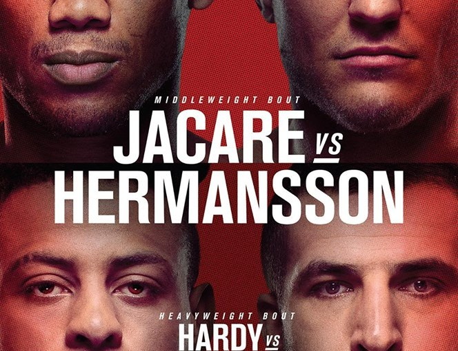 Octogon n°287 – UFC on ESPN+8 « Jacare/Hermansson »