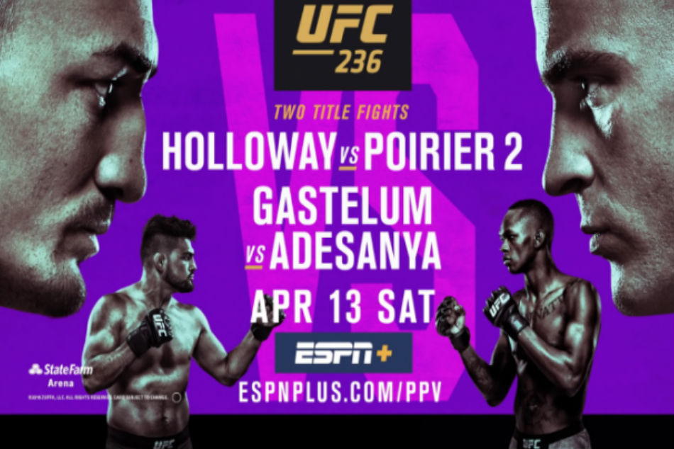 Octogon n°285 – UFC 236 « Holloway/Poirier 2 »