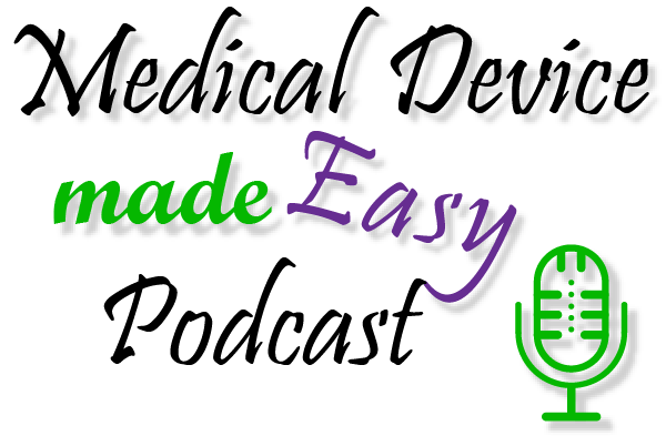 Logo for Medical Device made Easy Podcast