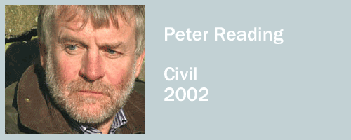 graphic for Peter Reading, Civil